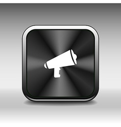 speaker icon broadcasting speak isolated scream sp vector image