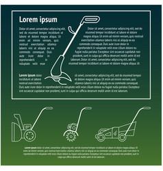 Technique for garden vector