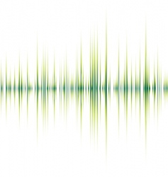 alpha beat green vector image vector image