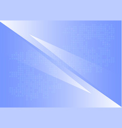 blue geometric shapes abstract background vector image