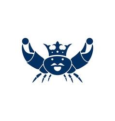 king-crab vector image