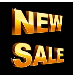 New sale vector image