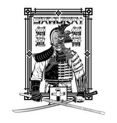 Samurai warrior 0003 vector