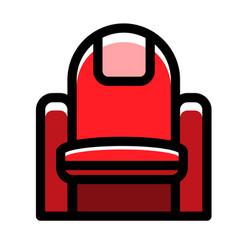 Seat linecolor vector