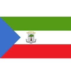 Equatorial Guinea flag image vector image vector image