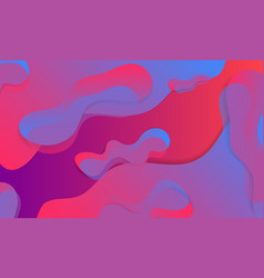 abstract liquid element mark gradient colorful vector image