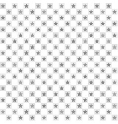 checkered star pattern seamless vector image
