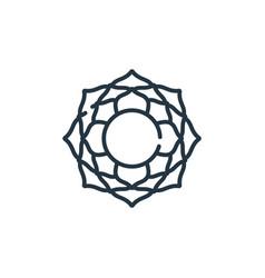 Sahasrara icon sahasrara editable stroke vector