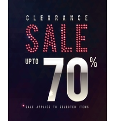 Sale ruby poster 70 percent off sale vector