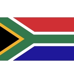South Africa flag image vector image