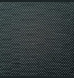 white zigzag textured black background design vector image