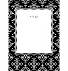 pattern template vector image vector image