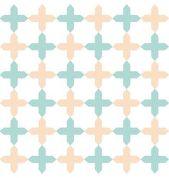light flat geometrical seamless pattern vector image