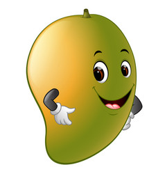 mango with face vector image