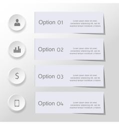 Minimal business elements vector image