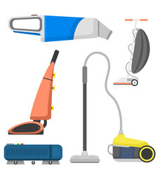 professional cleaning equipment isolated vector image