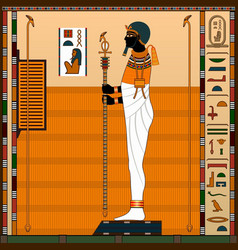 Religion ancient egypt vector
