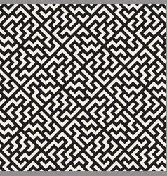 Seamless lines mosaic pattern modern vector