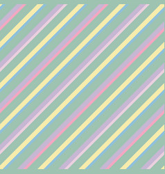 Seamless pattern pastel rainbow with pink vector