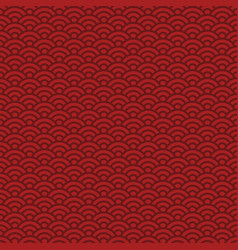 seamless pattern traditional chinese and japanese vector image