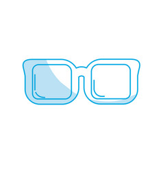 Silhouette optical glasses to can see better vector