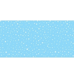 Snow Falling Seamless Pattern Christmas Background vector
