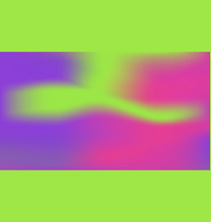 Ufo green plastic pink and proton violet colors vector