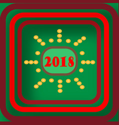 welcome and happy new year vector image