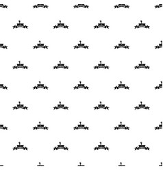 Zombie night pattern seamless vector