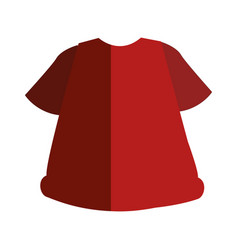 sport wear clothes icon vector image vector image