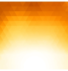 Abstract orange geometric technology background vector image