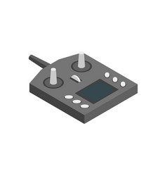 console equipment technology for multicopter vector image
