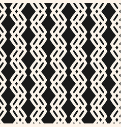 geometric seamless pattern with zigzag lines vector image