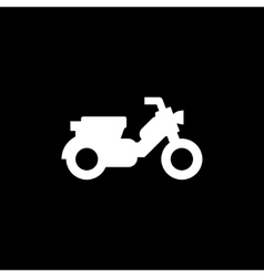 Modern scooter icon vector image