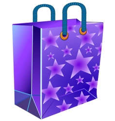 package with star vector image