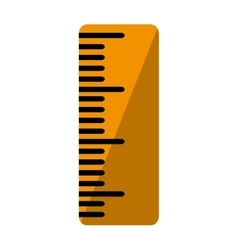 rule school supply isolated icon vector image