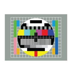tv test vector image