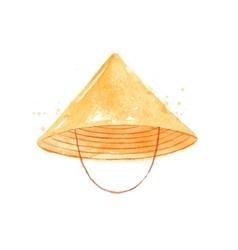 Chinese symbols hat vector image