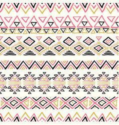 seamless abstract geometric pattern vector image