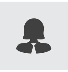 Businesswoman icon vector image