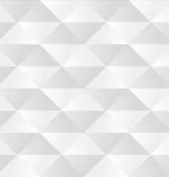 White Triangle Seamless Pattern vector image vector image