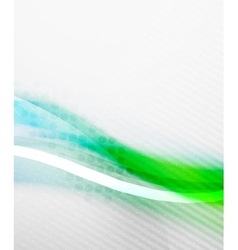 Blue green blur color wave vector