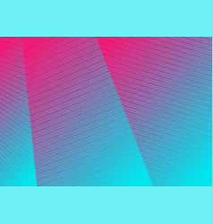 Colorful holographic curved lines pattern design vector