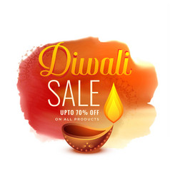 Creative diwali festival sale banner design vector