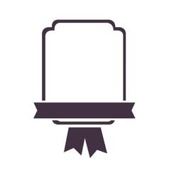 Emblem or crest icon image vector
