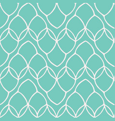 pretty leaf loop mesh pattern seamless repeating vector image