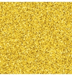 Abstract gold glitter pattern with round dotted vector image