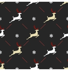 Christmas pattern seamless design Merry card vector image vector image