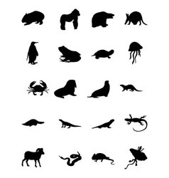 Animal Icons 4 vector