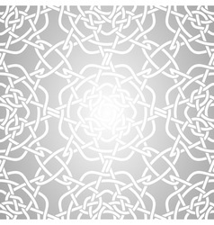 Celtic Lacy Knot Seamless Pattern vector image